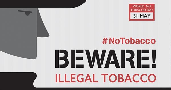 Dia Mundial sem Tabaco 2015: eliminar o comércio ilegal de produtos de tabaco
