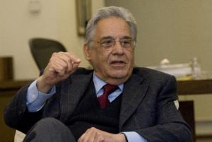 Fernando Henrique Cardoso durante entrevista concedida à revista Pesquisa Fapesp.