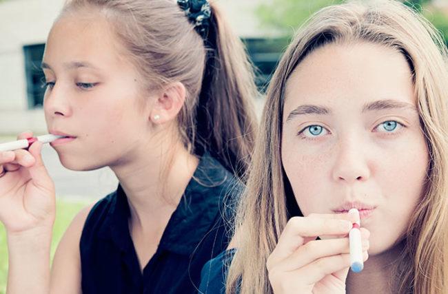 E-cig têm potencial para criar uma nova geração de jovens viciados