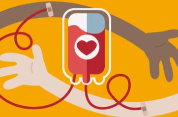 Seja altruísta. Doe sangue