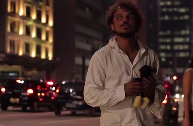 Curta-metragem discute a invisibilidade do usuário de crack