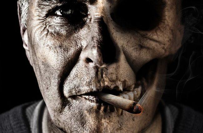 Tabaco: prejuízo e morte