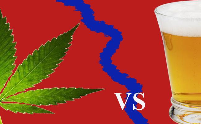 Álcool X Maconha: uma avaliação comparativa